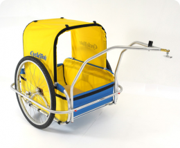 cycletote dog carrier trailer